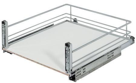 Canasto giratorio cromado de 70 cm con corte para cocina for Cocinas 70 cm ancho argentina