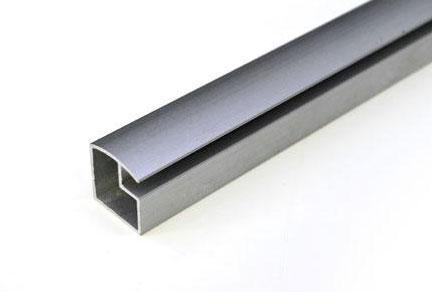 Perfil de aluminio l nea para puerta de mueble herrajes for Cotizacion aluminio argentina