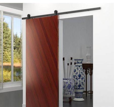 Sistema deslizante sf i120 para madera herrajes san mart n for Puerta granero madera
