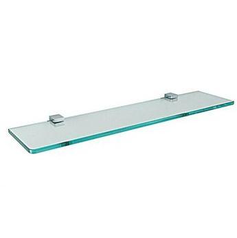 Estante simple de vidrio para ba o herrajes san mart n for Estantes vidrio bano