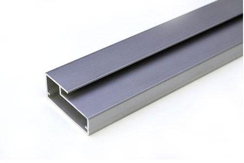 Tira de perfil de aluminio a 450 precio por metro for Perfiles aluminio para muebles
