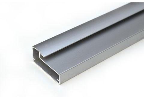 Tira de perfil de aluminio a 440 precio por metro for Perfiles aluminio para muebles