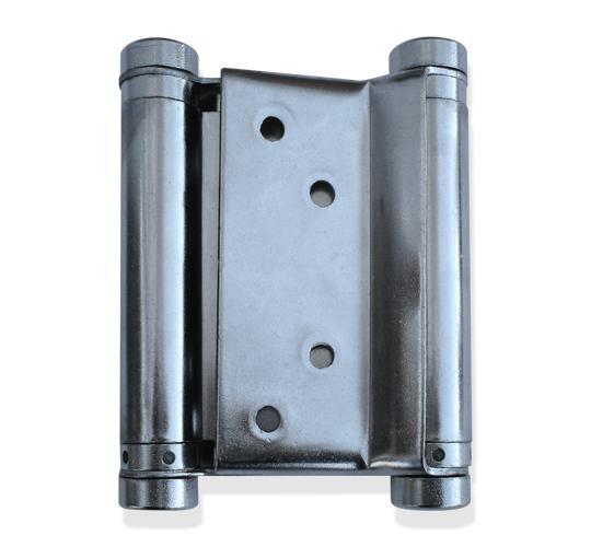 Bisagra de doble acci n de 4 charolada para puertas de madera precio por par herrajes san mart n - Tipos de bisagras para puertas ...
