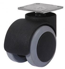 Rueda econ mica con base para pisos de madera herrajes for Ruedas industriales antiguas para muebles