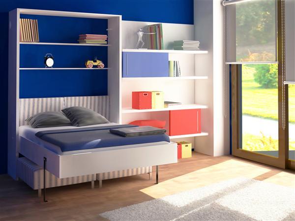 Sistema para cama plegable vertical de dos plazas   herrajes san ...