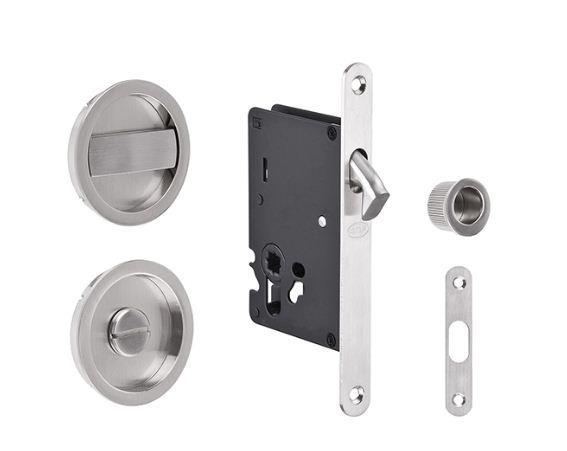 Cerradura JNF para puertas corredizas de baño - Incluye ...