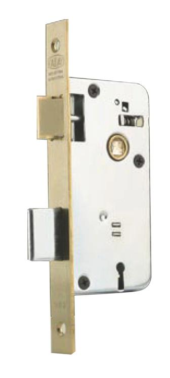 Cerradura para puerta kallay modelo 503 herrajes san mart n for Cerradura para puerta de bano