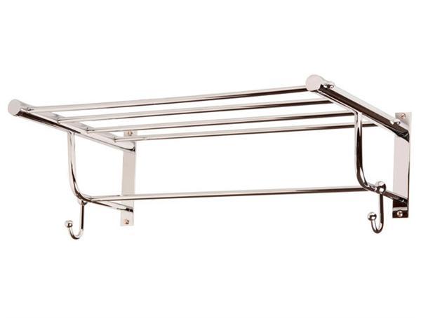 Repisa rack nea recta para ba o herrajes san mart n for Colgadores de bano