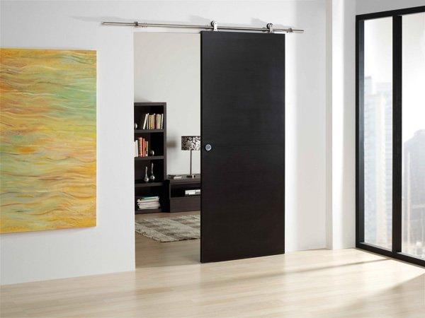 Sistema deslizante sf i120 para madera herrajes san mart n for Modelos de puertas corredizas de madera